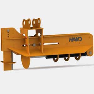 Excavator Log Splitter
